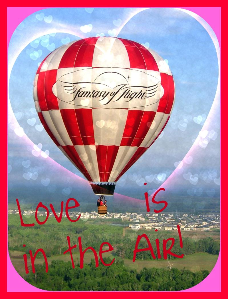 Balloon Love is in the Air Valentine 2012