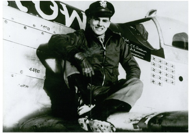 """Col. Clarence E. """"Bud"""" Anderson"""