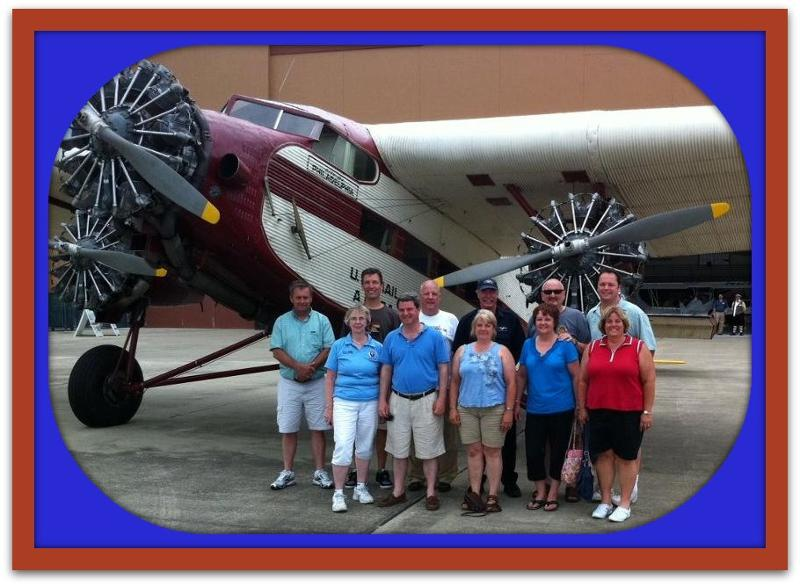 Ambassadors from Hagerstown after Ford flight June 2011