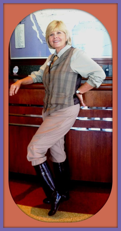 Penelope H. Sparstrutter, Wing Walker Extraordinaire