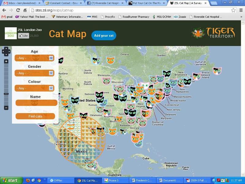 ZSL Cat Map