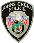 Johns Creek Police Patch
