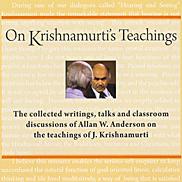 on krishnamurti's teachings - Allan Anderson