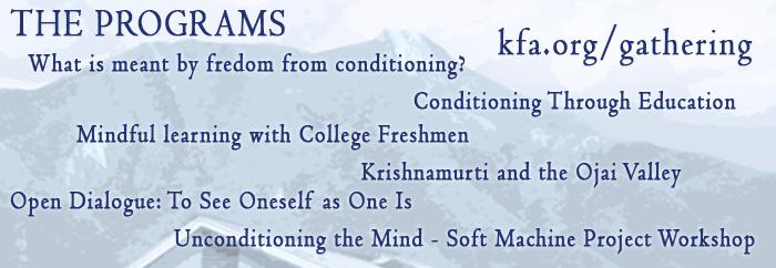 May Gathering 2014 Programs