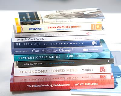 Krishnamurti Books - August 2012