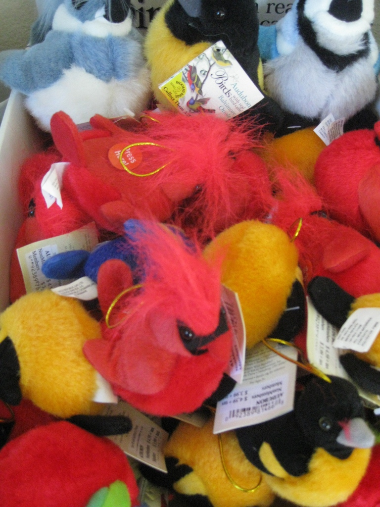 MLAC plush birds