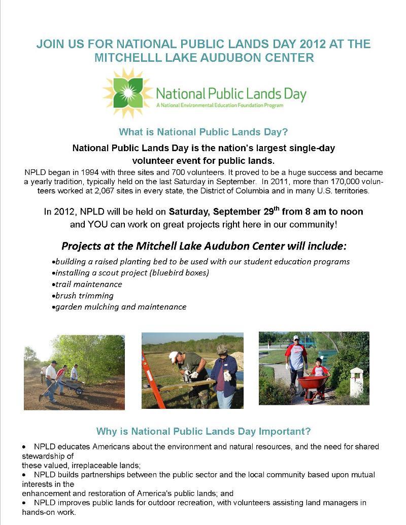 2012 NPLD flyer