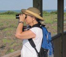 Susan Allbert birding