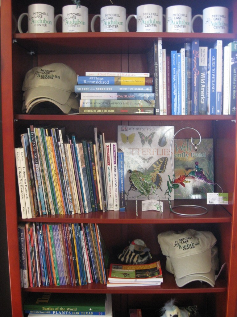 MLAC Nature store bookshelves