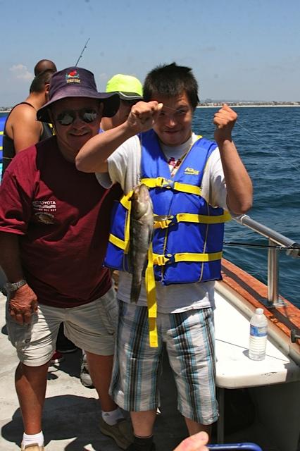 Carlos w/fish