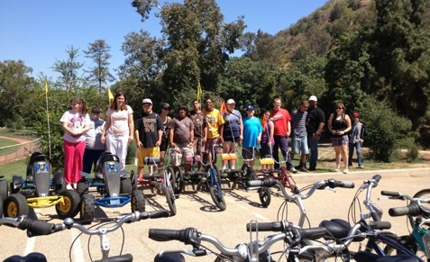 Culver City bike riding at Griffith Park