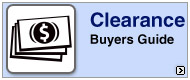 Clearance Buyers Guide