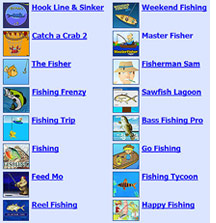 More Fishing Games at BigFishTackle.Com!