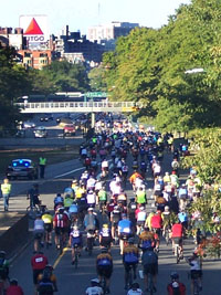 Riders on Storrow Dr.