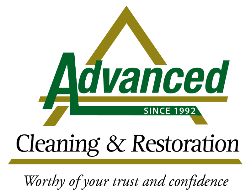 Advanced Cleaning and Restoration Logo with Tagline