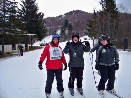 Nina at the Adaptive Ski Day at Pico Peak