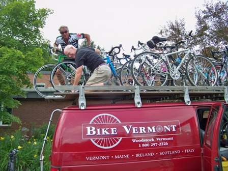 Bike Vermont provided great support