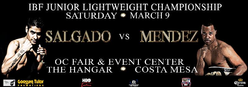 SALDADO-MENDEZ MOVES TO MAIN EVENT