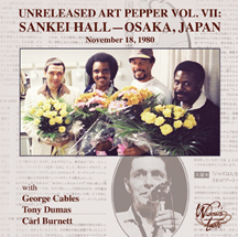 Unreleased Art Pepper Volume VII