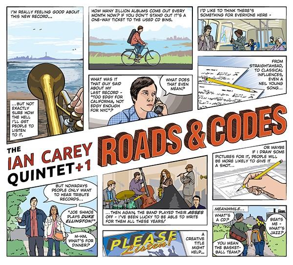 Ian Carey Quintet +1 Roads & Codes
