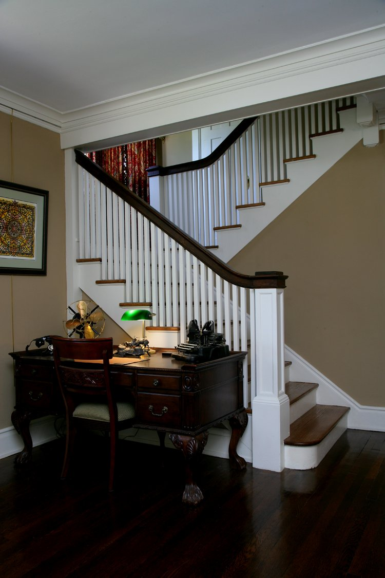 Burris home staircase