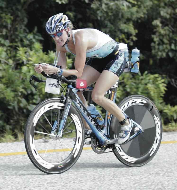 Amanda on Bike