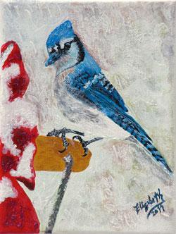 Blue Jay by Elizabeth Valenzuela - 2011