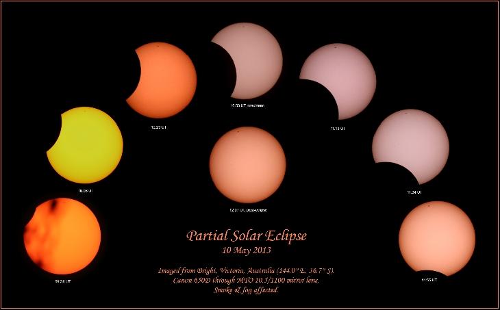 Partial Eclipse Rob Kaufman Bright, Victoria, Australia
