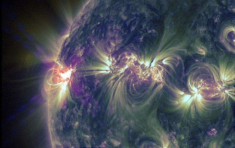 solar flare may 14, 2013 wow!