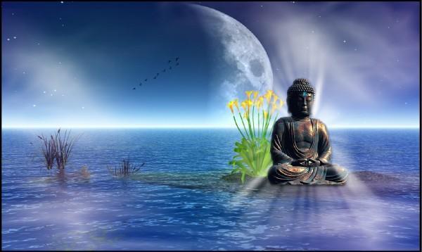 Eye of the Buddha Full Moon