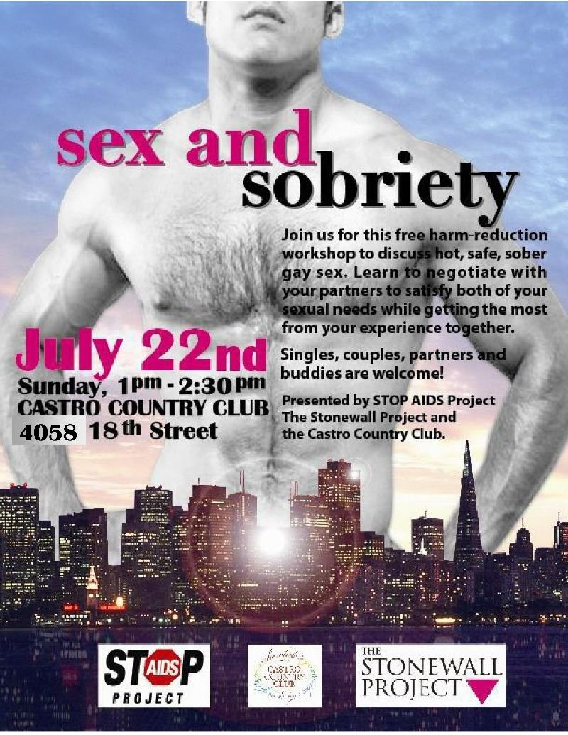 Sex and Sobriety Workshop