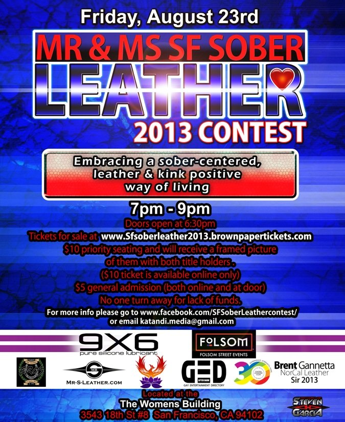 Sober Leather SF Contest
