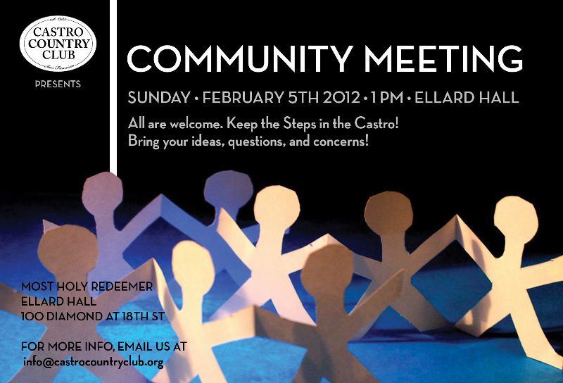 CCC Community Meeting Flier