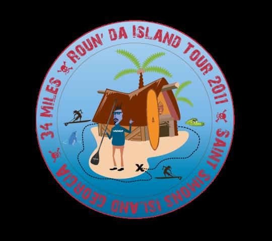 Roun da Isalnd Tour event logo