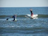 Monty surfs! (at OBX'08