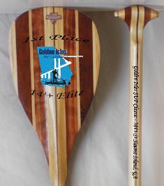 Whiskeyjack 1st place trophy paddle