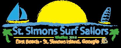 St Simons Surf Sailors logo