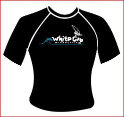 Whitecap PRO rash with logo