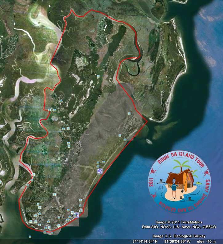Map of Roun da island