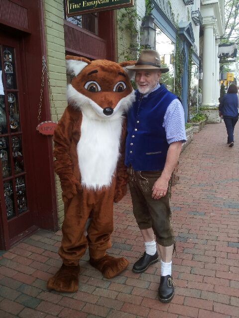 Dieter and the Middleburg Fox