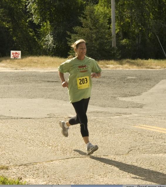 bog jog lady run
