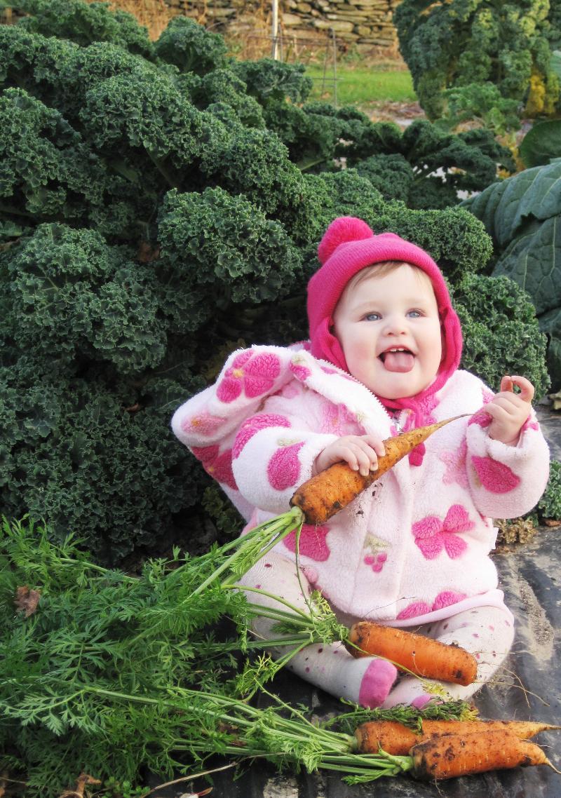 Allie at Grandad's Farm