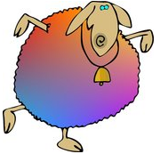 Multi-Color Sheep