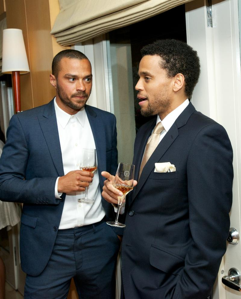Jesse Williams and Michael Ealy