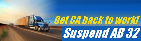Suspend AB 32 Banner
