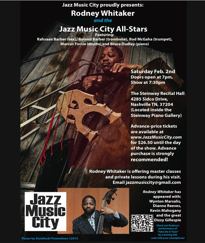 Feb 7, 2012 event Jazz music city
