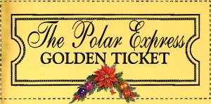 Polar express golden ticket free template search results for Polar express golden ticket template