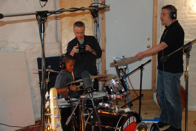 Alan recording