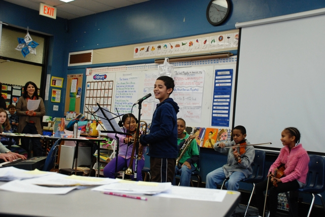 Blues in the classroom