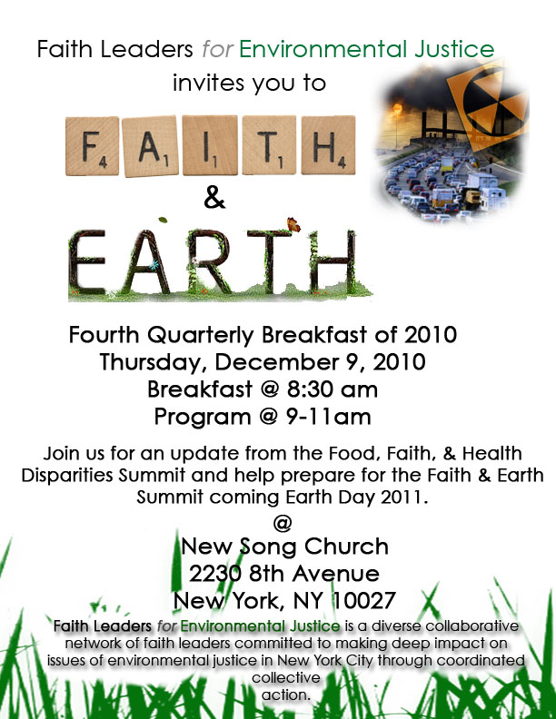 Faith and Earth Breakfast